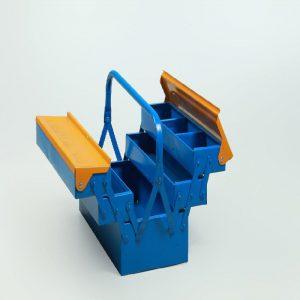 جعبه ابزار فلزی طول 30 40 و50 دوطبقه وسه طبقه