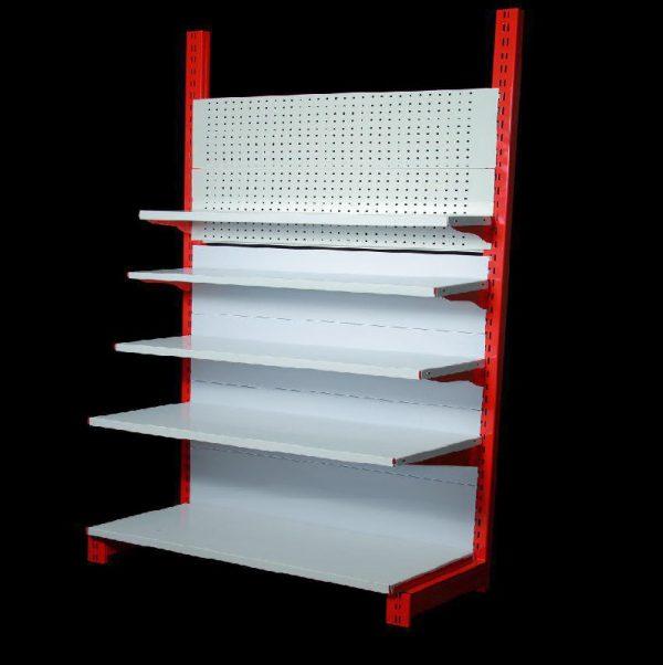 قفسه فروشگاهی یک طرفه پایه خود ایستا 1.5 متری تا 2.5 متری