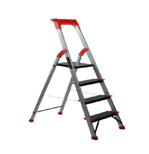 نردبان خانگی وفروشگاهی الوم پارس پله 3 تا 7پله مدل کلاسیک